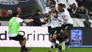 Spezia Serie B celebrating