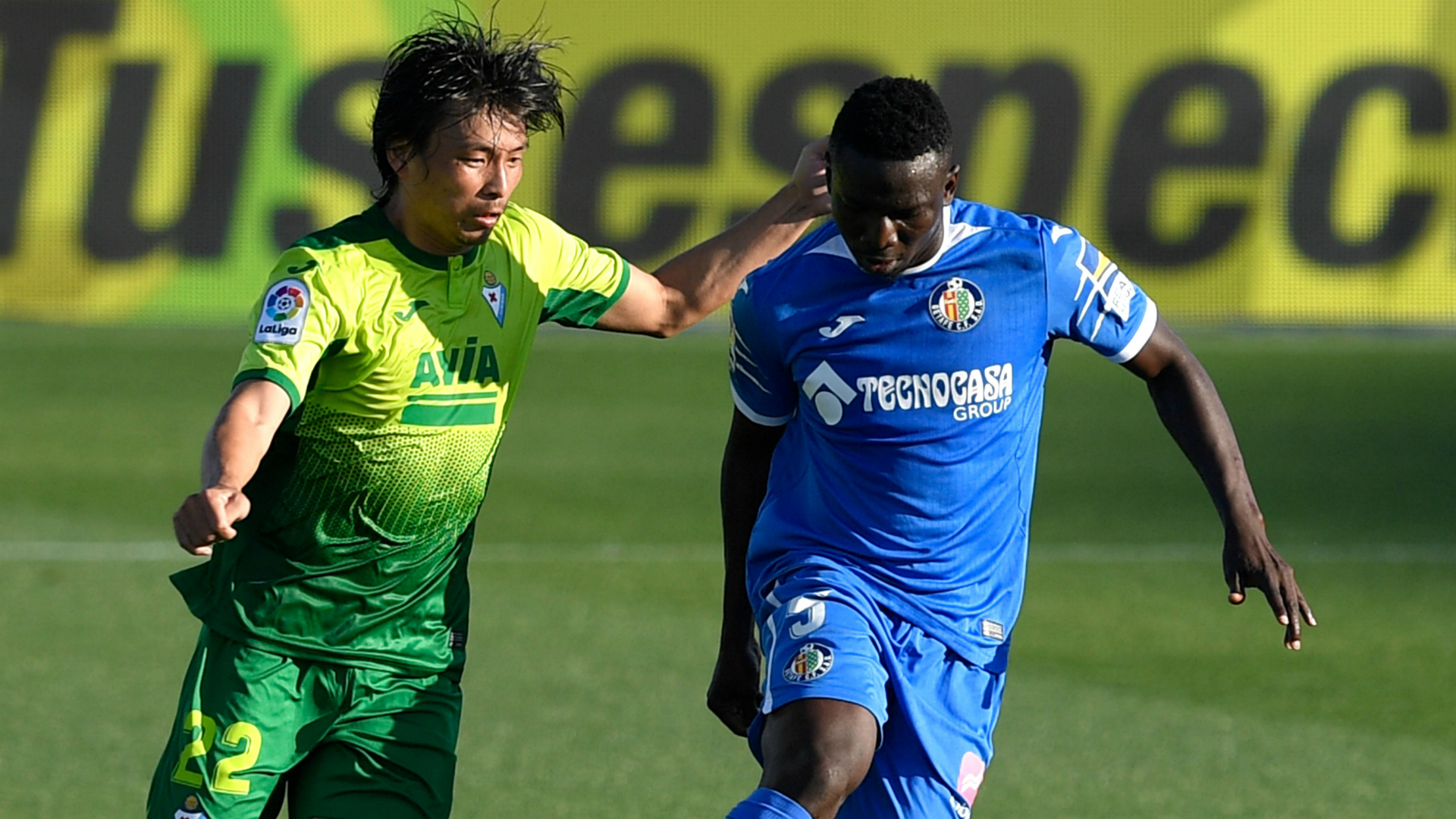 Injured Etebo dropped for Getafe's trip to Real Valladolid