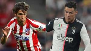 Joao Felix Atletico Madrid Cristiano Ronaldo Juventus