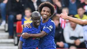N'Golo Kante Willian Chelsea 2019-20