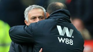 Jose Mourinho Nuno Manchester United Wolves