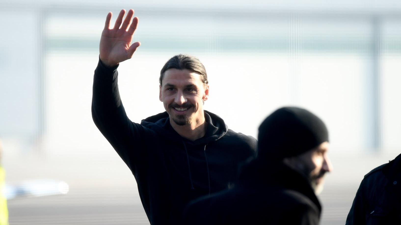 Zlatan Ibrahimovic explique comment il a choisi son numéro — AC Milan