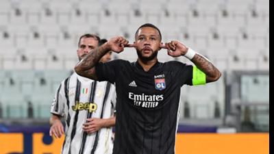 Depay Lyon Juventus 2020