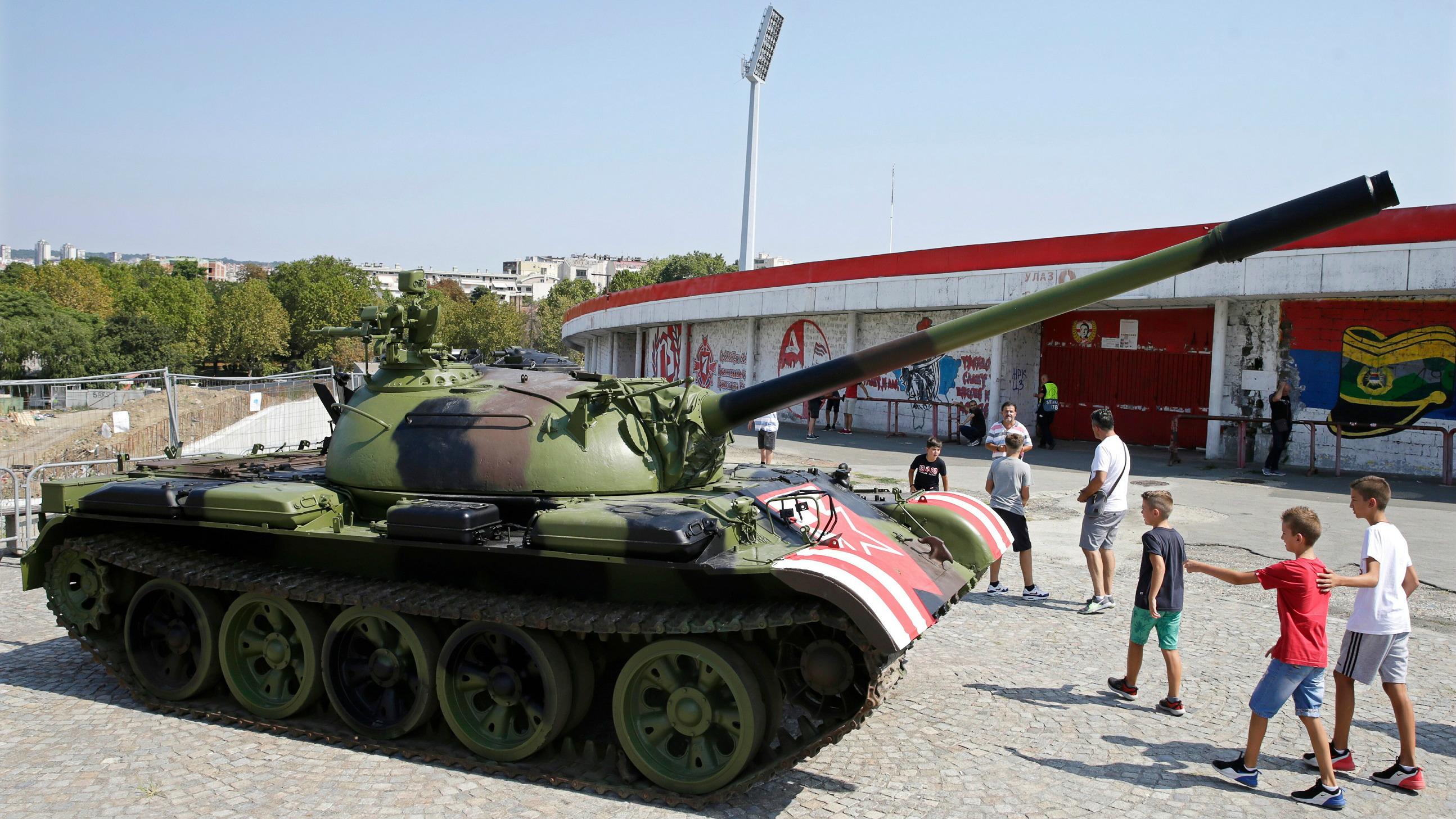 Red Star Belgrade Tank