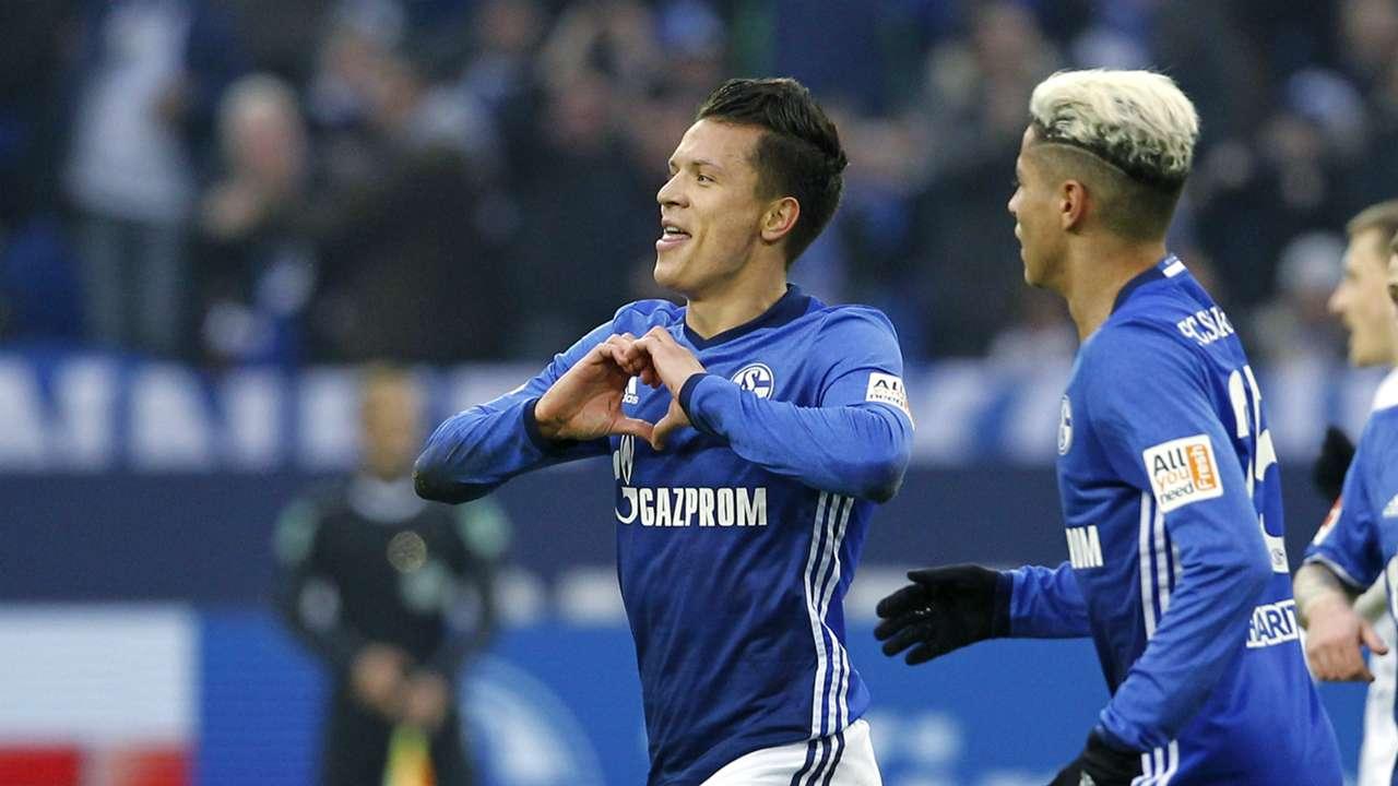 Yevhen Konoplyanka FC Schalke 04 Werder Bremen 03022018