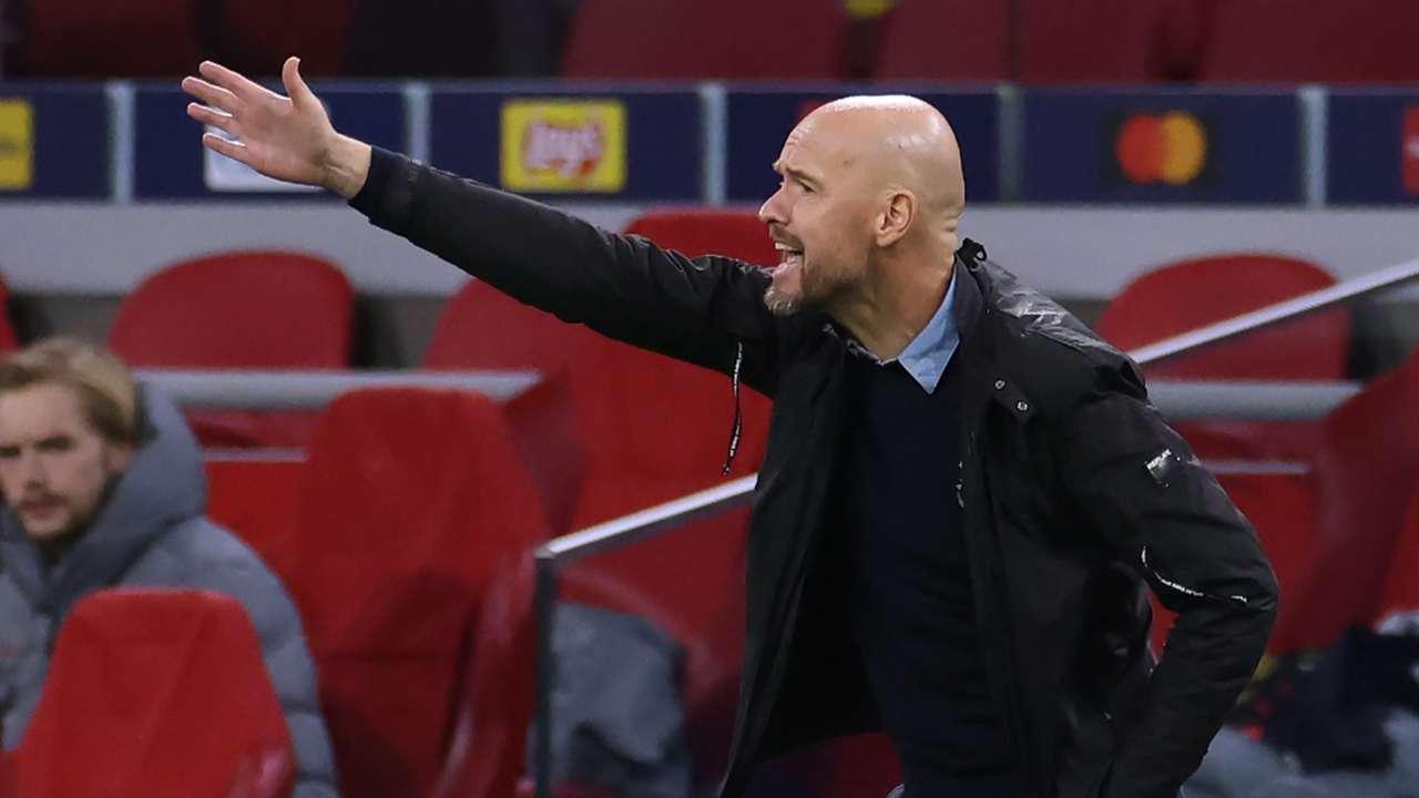 Erik ten Hag Ajax 2020-21