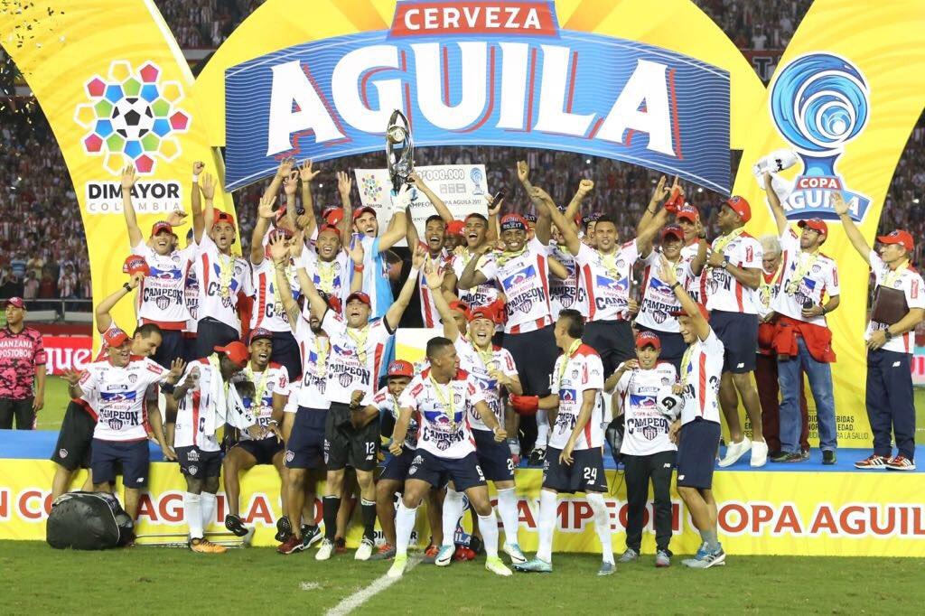 Junior campeón Copa Águila 2017