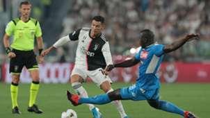 Cristiano Ronaldo Kalidou Koulibaly Juventus Napoli