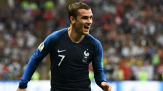 Antoine Griezmann France Croatia World Cup final 2018
