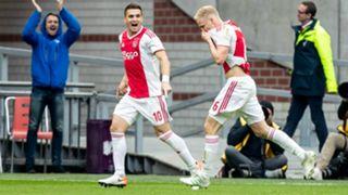 Dusan Tadic Donny van de Beek Ajax 05122019