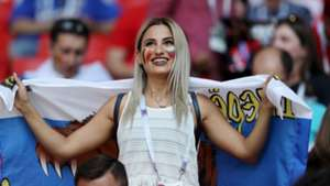 美女サポワールドカップ_ベルギーvsチュニジア_チュニジア1