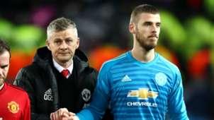 Ole Gunnar Solskjaer David de Gea Manchester United 2018-19