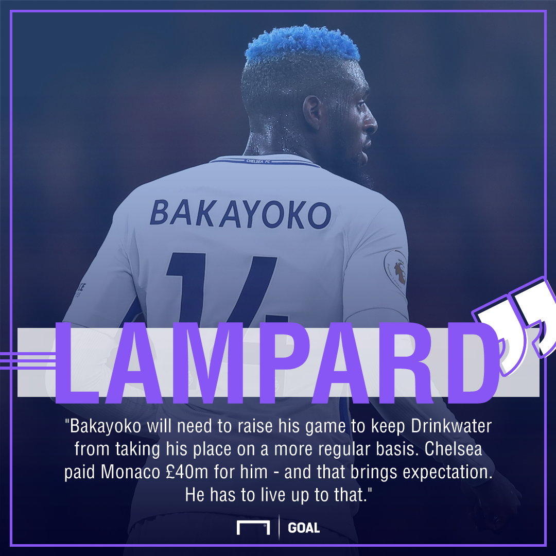 Tiemoue Bakayoko Frank Lampard do more