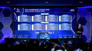 AFC Champions League 2020 draw