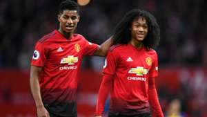Marcus Rashford Tahith Chong Manchester United 03022019