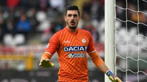 Simone Scuffet Udinese Serie A 2016-17