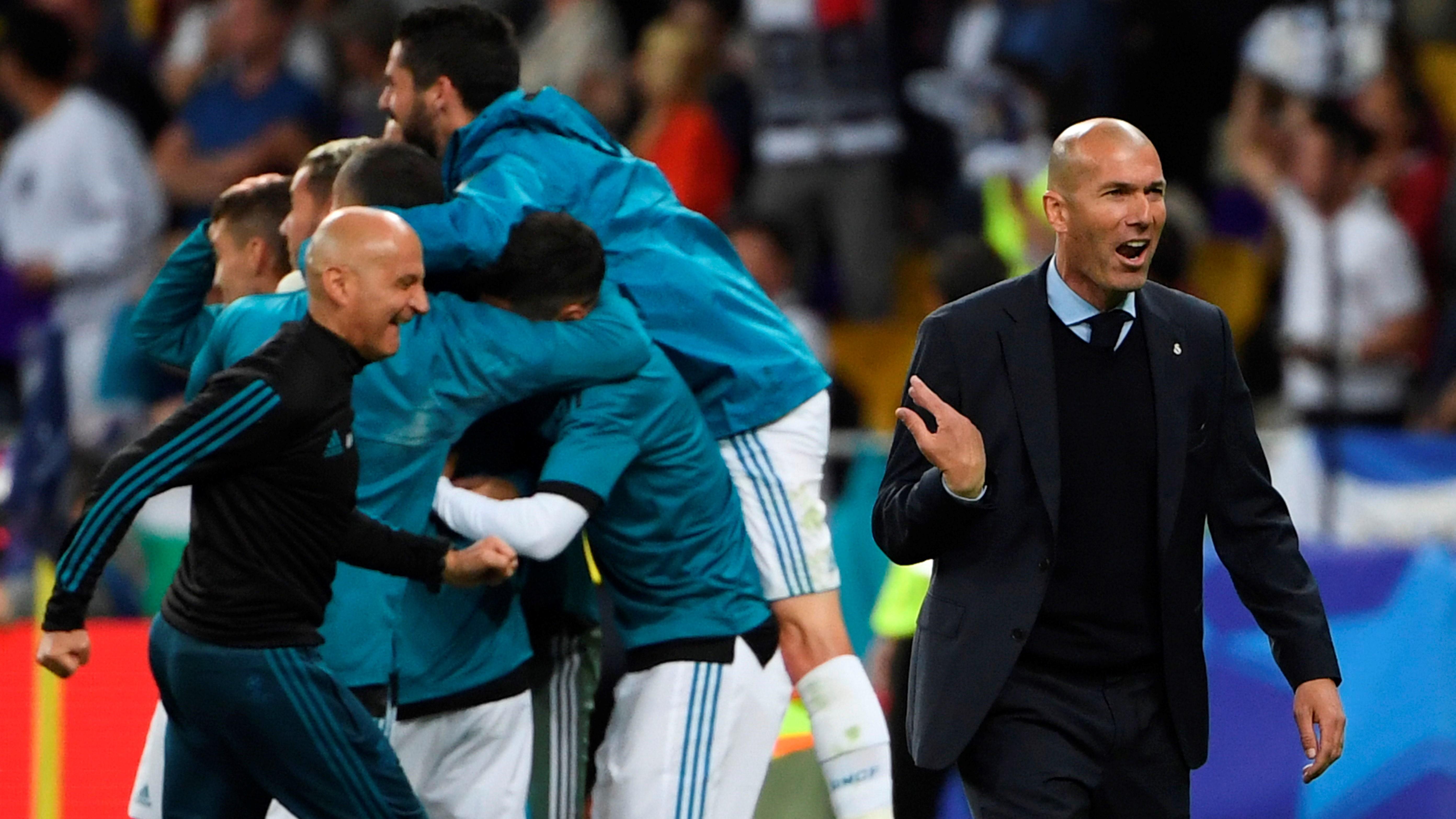 Zinedine Zidane Real Madrid Liverpool UCL