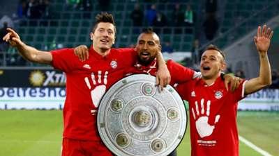 Bayern Munich Bundesliga Lewandowski, Vidal