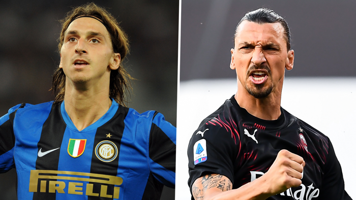 Zlatan Milan Inter split