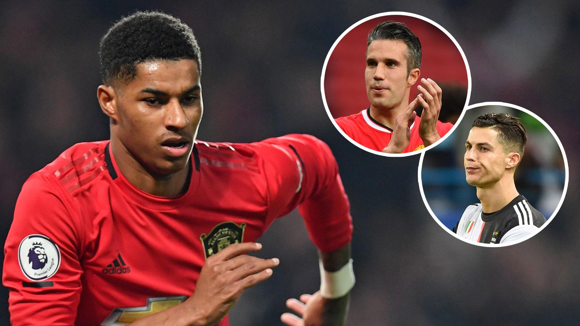 """Manchester United - """"N'essaie pas de copier"""", les conseils de Van Persie à Rashford"""