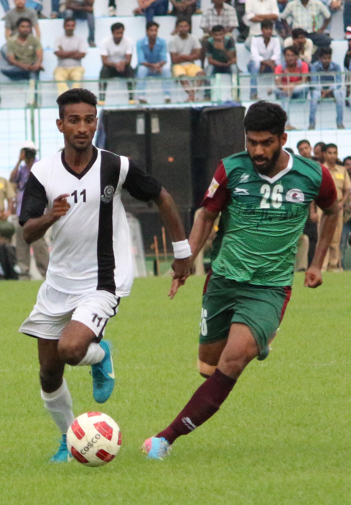 Mohun Bagan vs Mohammedan Sporting