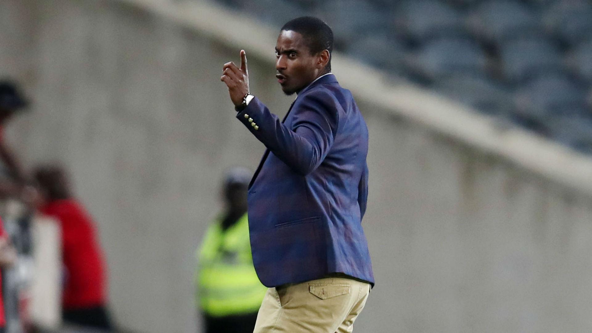 Rhulani Mokwena, coach of Orlando Pirates, November 2019