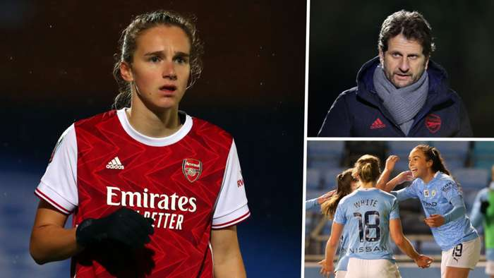 Vivianne Miedema Joe Montemurro Manchester City split