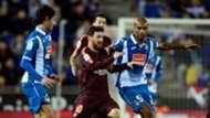 Lionel Messi Naldo Espanyol Barcelona Copa del Rey 17012018