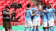 Aymeric Laporte Man City vs Tottenham Carabao Cup final 2020-21