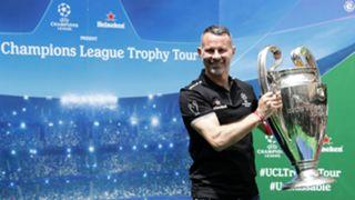 Ryan Giggs Heineken Champions League Trophy Tour Johannesburg South Africa