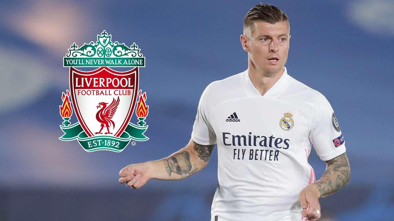 Toni Kroos Real Madrid Liverpool GFX