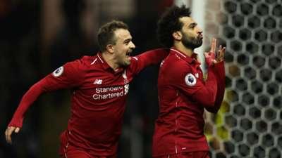 Xherdan Shaqiri Sadio Mane FC Liverpool 241118