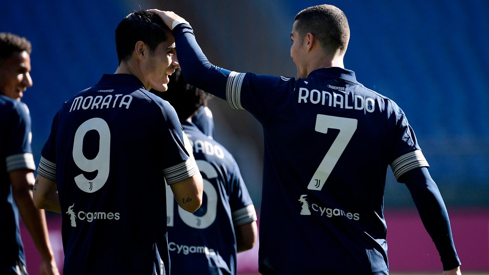 Cristiano Ronaldo-Alvaro Morata Duet Paten Juventus, Andrea Pirlo Setop  Eksperimen | Goal.com