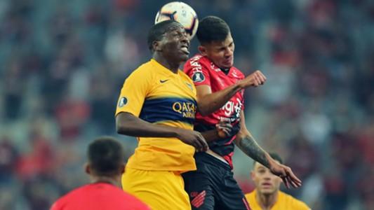 Jan hurtado Rony Athletico Paranaense Boca Copa Libertadores 24072019