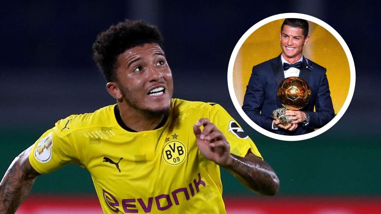 Jadon Sancho Cristiano Ronaldo