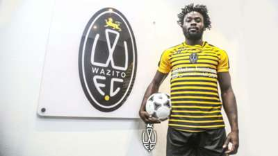 ELVIS Rupia signs for Wazito FC.