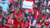 Simba SC fans vs Al Ahly.