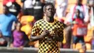 Kaizer Chiefs midfielder James Kotei - January 2020