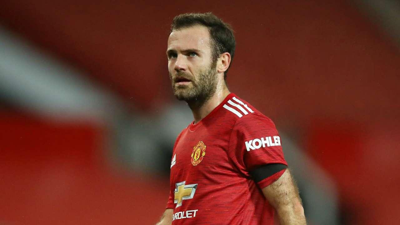 Juan Mata Manchester United 2020-21