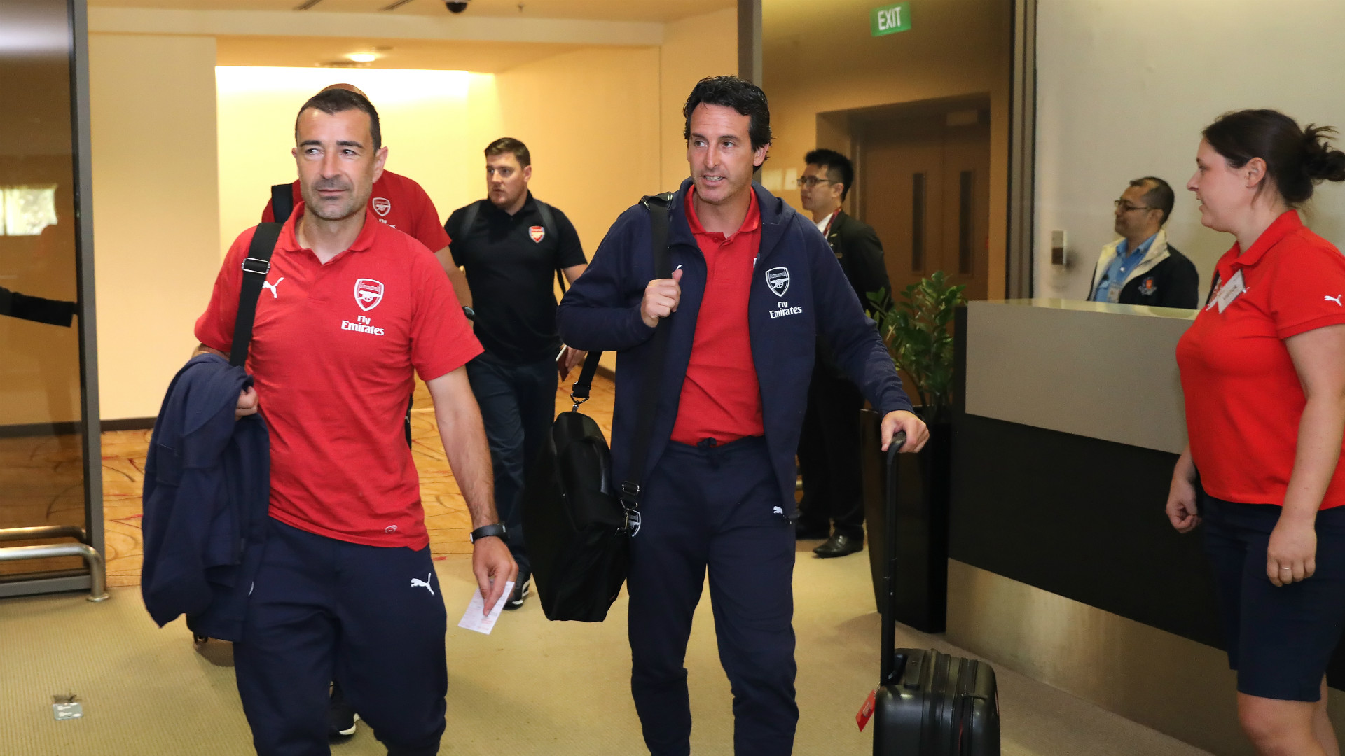 Unai Emery Arsenal ICC 2018 Singapore