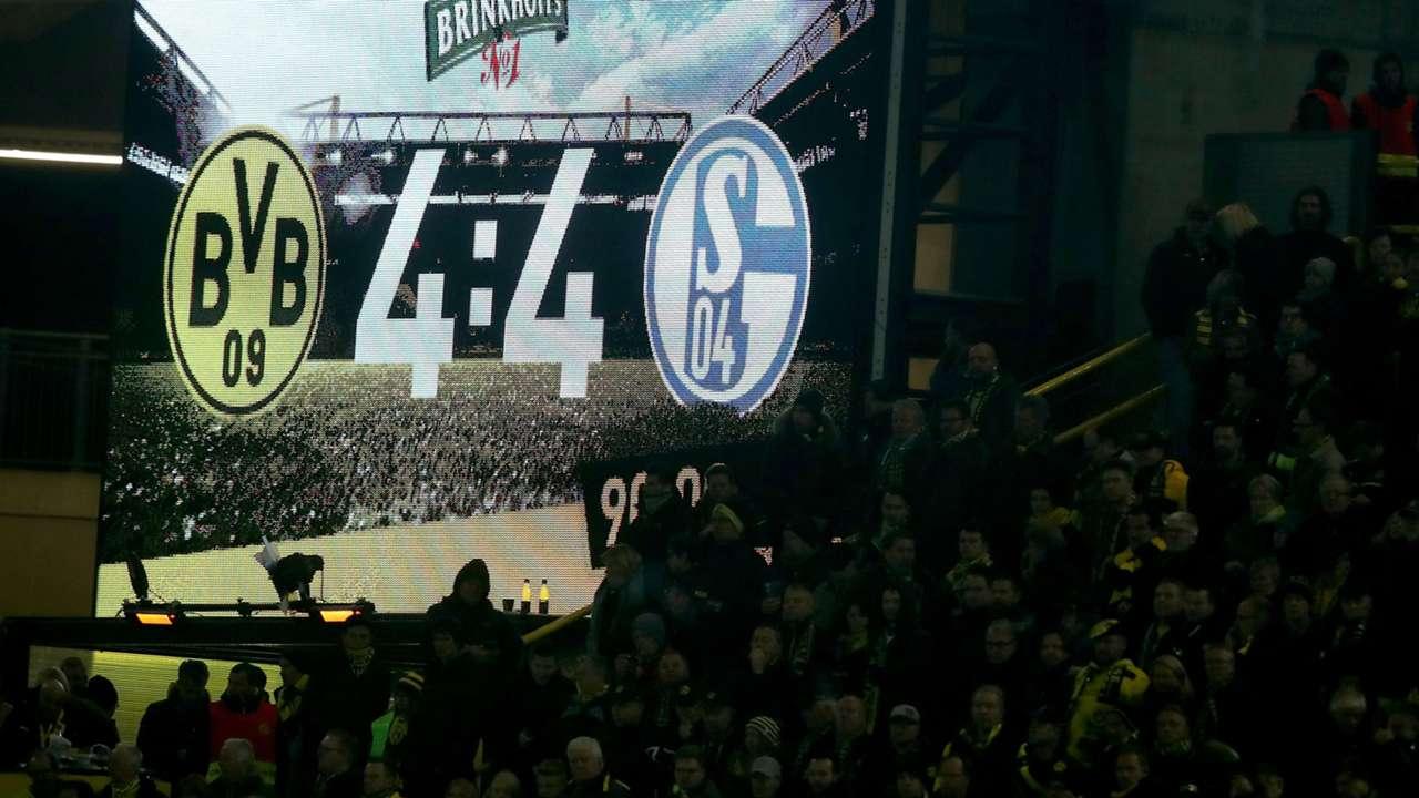 Schalke 04 gegen BVB: Hundebiss, Nebel und ein 4:4 - die zehn größten  Derby-Momente