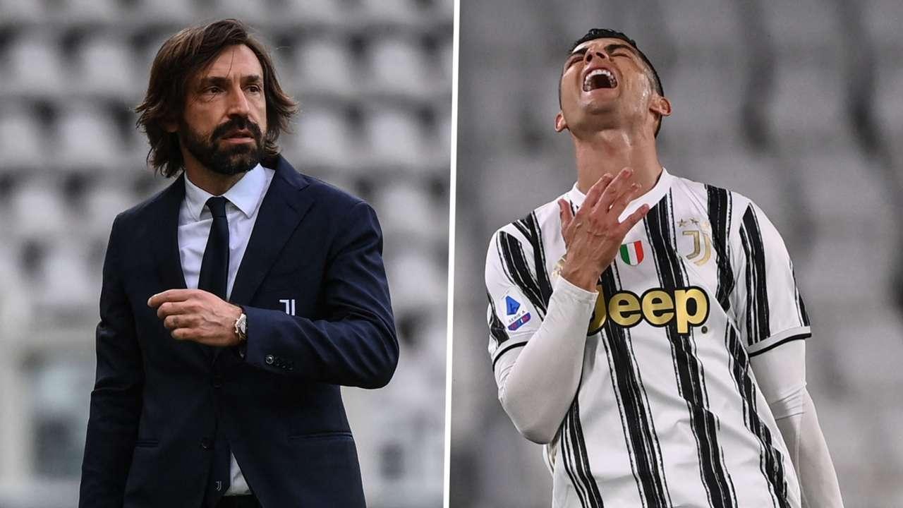 Andrea Pirlo Cristiano Ronaldo Juventus GFX