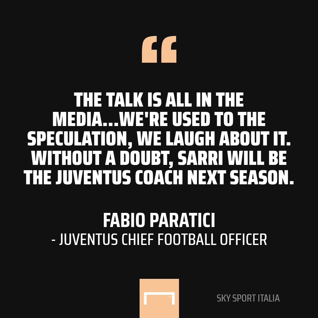 Champions League: Sarri speaks on Juventus vs Lyon being his last game