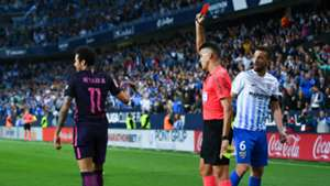 Neymar Malaga Barcelona La Liga