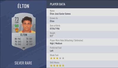 Elton FIFA 19