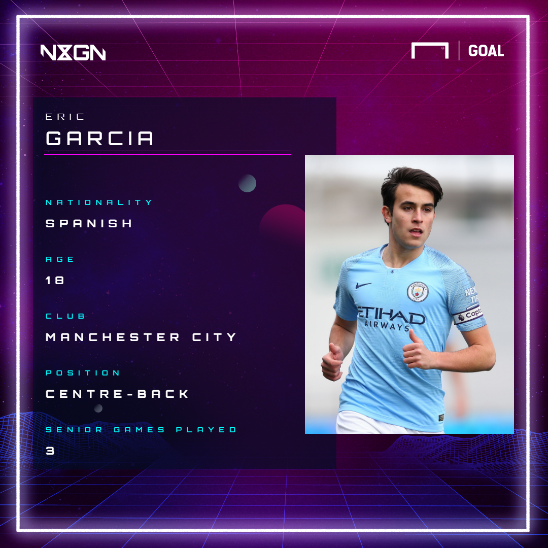 Eric Garcia Manchester City NxGn GFX