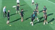 Cristiano Ronaldo caño a Mayoral