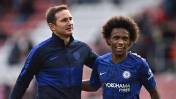 Frank Lampard/Willian Chelsea 2019-20