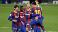Trincao Messi Betis Barcelona LaLiga