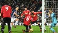 Gareth Barry West Brom Manchester United